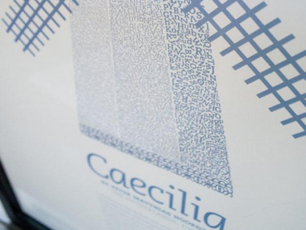 <span>Caecilia Typographic Poster</span><i>→</i>