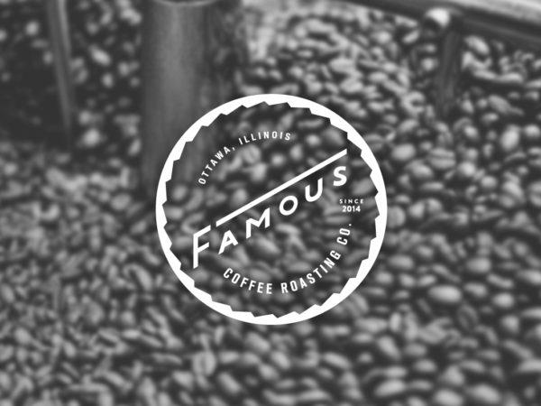 <span>Famous Coffee Roasting Co. Logo</span><i>→</i>